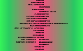 Graphic, Design, Communication, Name, Firm, Confusion, Anna, Craemer